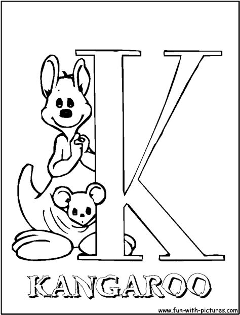 free coloring pages of illuminated letter k