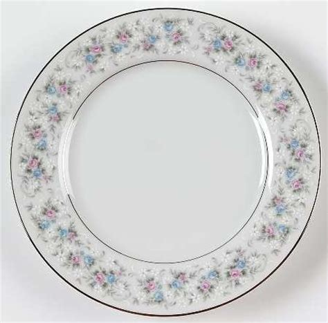 fine china patterns quot cheryl quot china pattern with pink blue gray flower