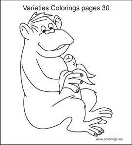 colorings ws varieties colorings pages
