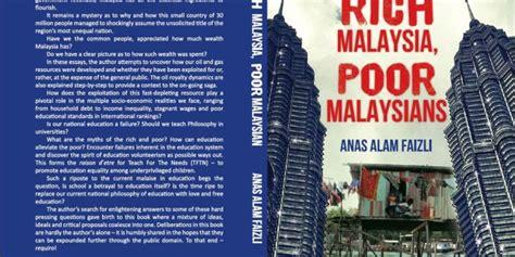 rich poor book report essay rich malaysia poor malaysians malaysia kaya rakyat