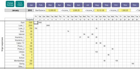 Excel Personal Expense Tracker Personal Expenses Excel Template