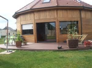 maison en bois de c 232 dre
