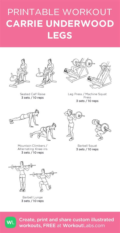 printable workout to customize and print ultimate at home 17 best images about a girls life on pinterest make up