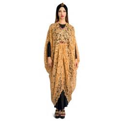 Gamis Jingga Malika bergaya bersama raden sirait pricearea