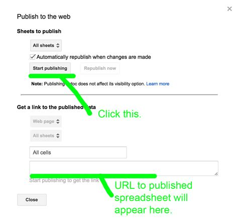 Publish Spreadsheet To Web by Publish An Excel Spreadsheet To The Web Buff