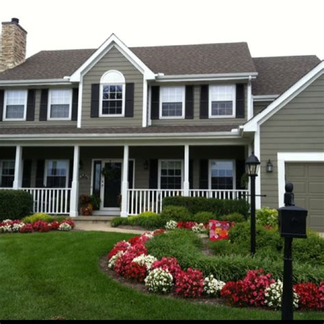 beautiful house and landscaping curb appeal pinterest