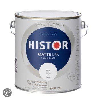 histor 6400 mat bol histor finish lak mat 2 5 liter wit