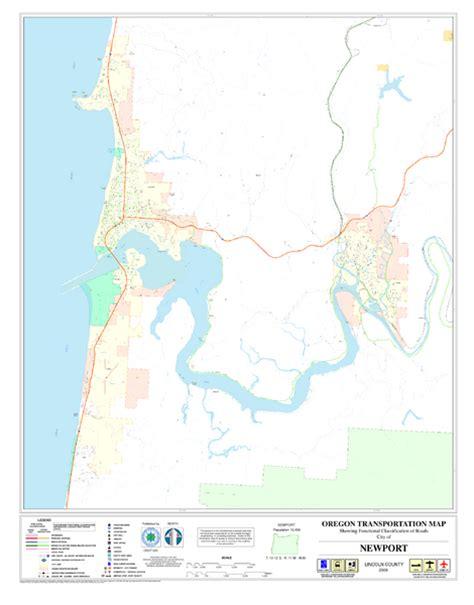 map of oregon newport newport oregon road map newport oregon mappery