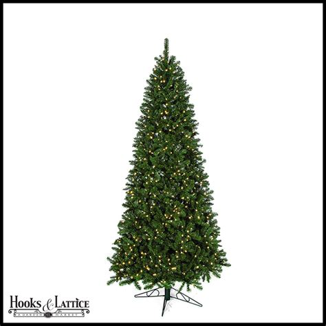 10 ft monroe pre lit pine artificial christmas tree w