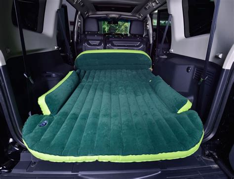 most comfortable way to sleep in a car suv air bed holycool net