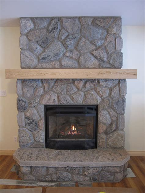 Wood In Gas Fireplace by Regency Gas Fireplace With 5 Point Granite