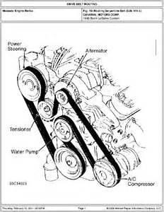 97 Buick Lesabre Serpentine Belt Diagram Solved Need Diagram For Installing Belt On A 1995 Buick