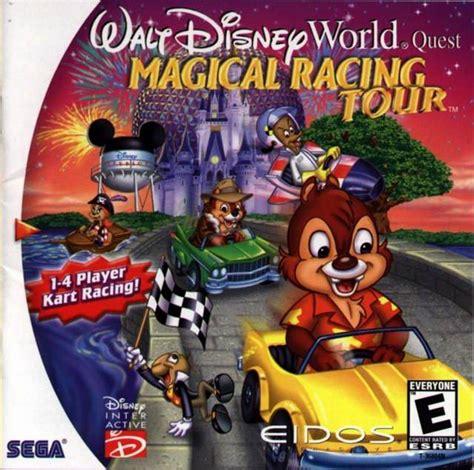 disney world games walt disney world quest magical racing tour usa iso