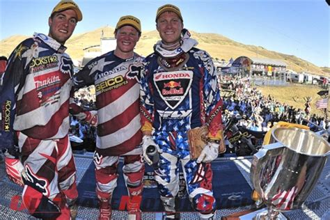 motocross gear usa mx of nations ama congratulates team usa