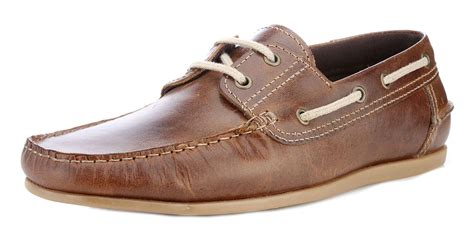 Decks Shoes Aydera Suede Series stratton mens leather suede moccasin boat deck shoes brown navy ebay