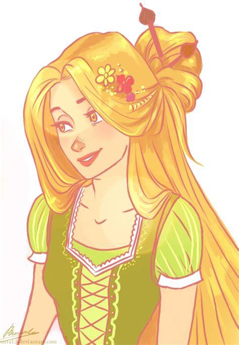 Tangled Rapunzel Drawing Tumblr