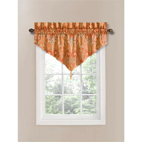 waverly home classics curtains shop waverly home classics 20 in pearl cotton rod pocket