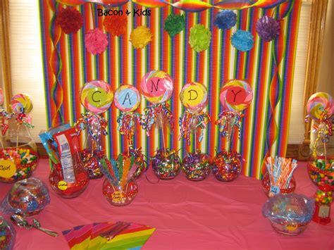 themes for making videos candy party making the decorations candy party candy