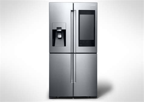 Tv Samsung Resmi samsung s smart fridge has cameras and a display
