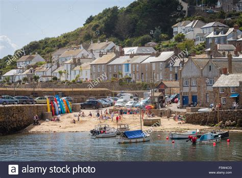 small seaside town of mousehole cornwall uk stock photo royalty free image 89677408 alamy