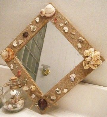 shell bathroom mirror sea shell bathroom mirror 183 how to make a wall mirror