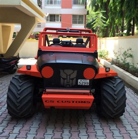 open jeep modified in black colour these 6 indian modified cars look like spectacularly