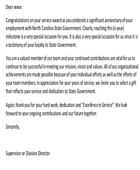 letter thanking staff for work sle thank you letter to employees 7 exles in word