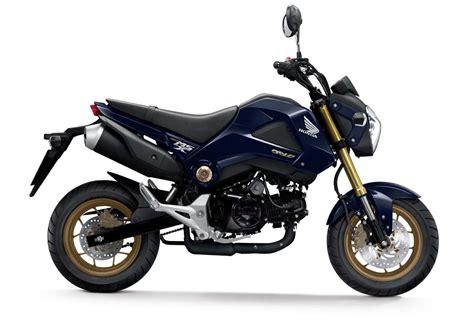 honda msx 2014 2014 honda msx125 grom colors revealed motorcycle news