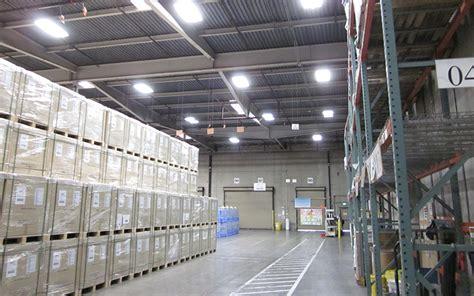 yusen logistics installs energy efficient lighting system