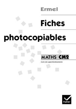 Ermel - Fiches photocopiables CM2 | Editions Hatier