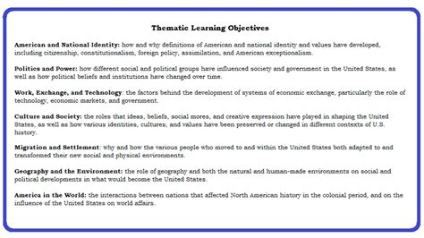 Apush Essay Themes by Apush Themes Png