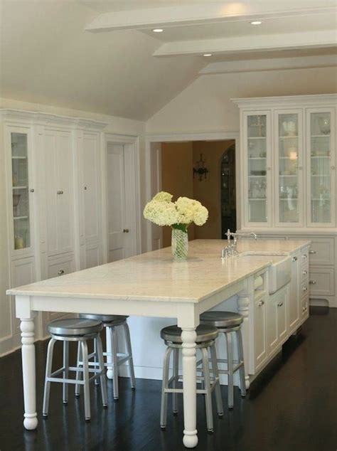 build   kitchen island  seating woodworking