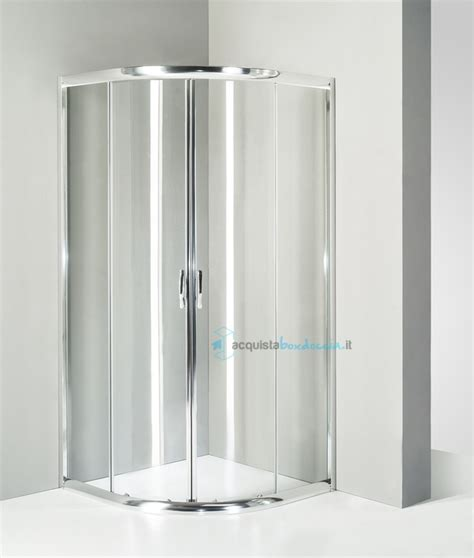 box doccia 80x80 box doccia semicircolare 80x80 cm trasparente