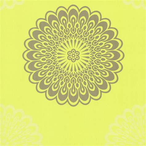 lime green floral hex geometric wallpaper walls republic jacintha green mod geometric floral wallpaper
