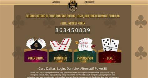 daftar login  link alternatif poker  bisnis