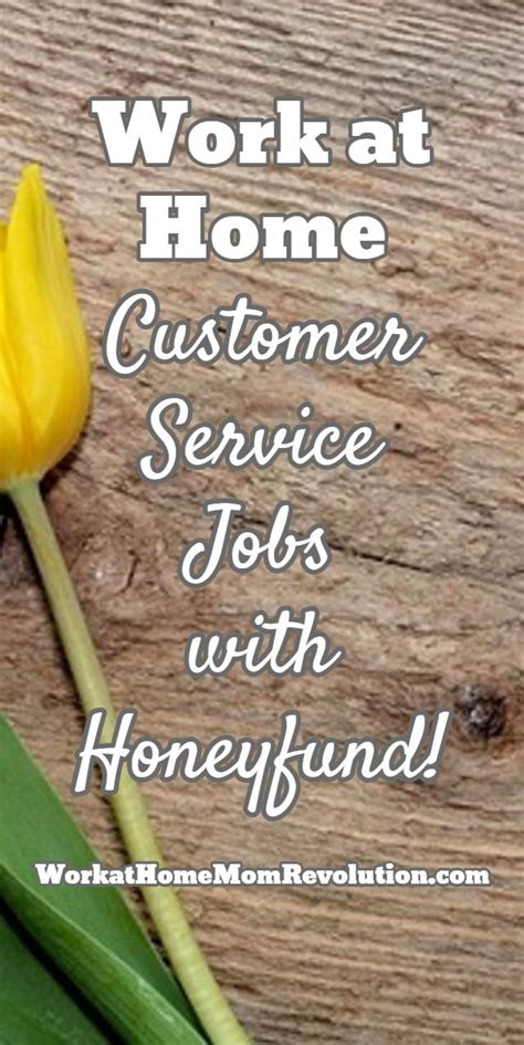 honeyfund seeking work at home customer service reps we