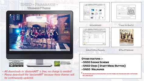 download themes kpop for windows 7 2013 theme snsd paparazzi kpop for windows 7 by hkk98