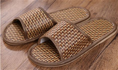 Nature Sandal Slippers Shoe Sandals Tropical Style Sandals style tropical royal rattan slippers straw slippers for and at home
