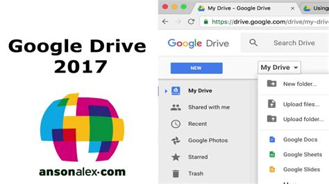 gogle dive drive tutorial 2017 ansonalex