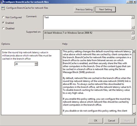 Set Modera by Configuring Sccm And Branch Cache Steve Rachui S