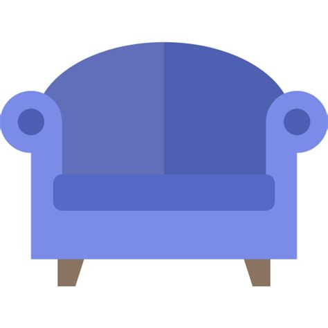 chair furniture home interior room seat icon