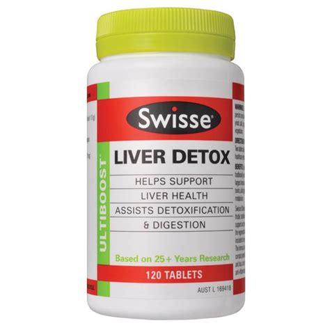 Liver Detox Swisse 120 Price by Swisse Ultiboost Liver Detox 120 Tablets Westfield