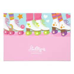 roller skating birthday party invitations 2
