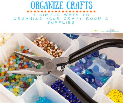 7 Ways To Organize Your Pet by 7 Ways To Organize Your Craft Supplies