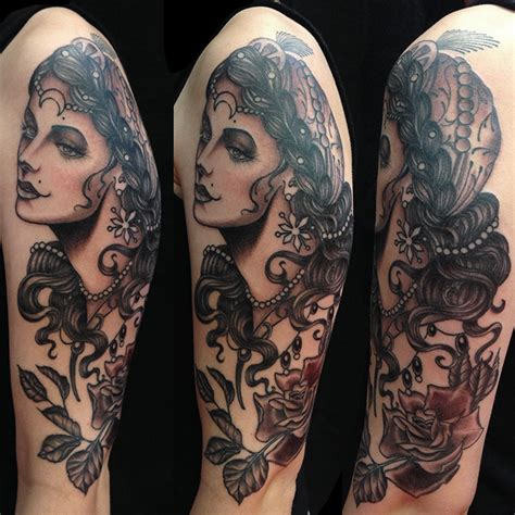 traditional black and grey japanese tattoo nate fierro hvt