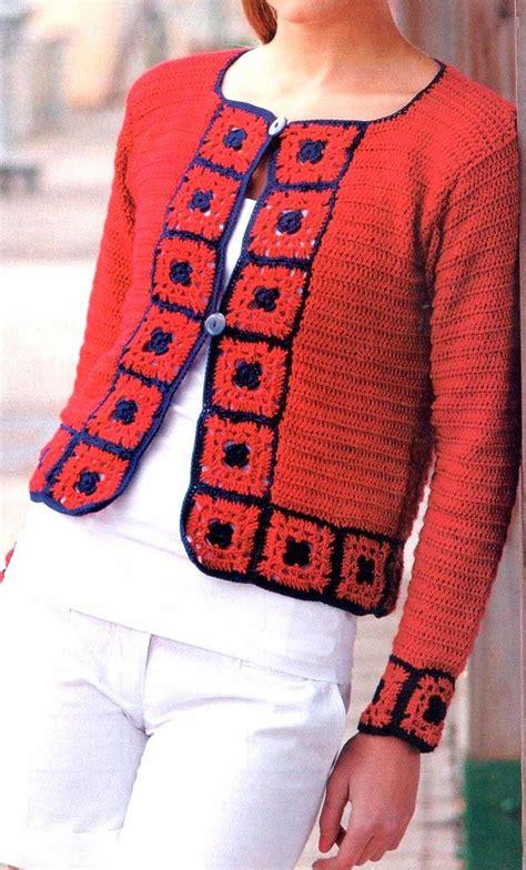 artesanales en crochet saco tejido en crochet con un bonito detalle m 225 s de 1000 im 225 genes sobre crochet en pinterest patr 243 n