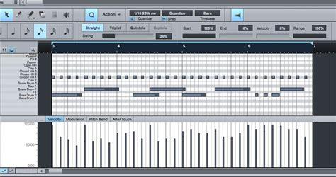drum pattern hydrogen utilisation de presonus studio ones impact ask audio