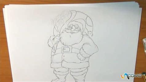imagenes de santa claus a lapiz dibujos a lapiz de navidad imagui