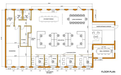 Company Floor Plan | norfolk tug company work program architects