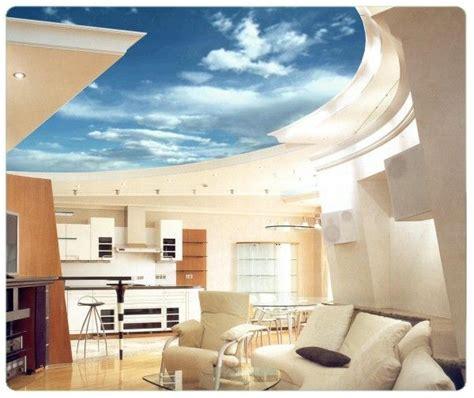 deckendesign wohnzimmer deckenverkleidung verwandelt das zimmer in ein kunstwerk